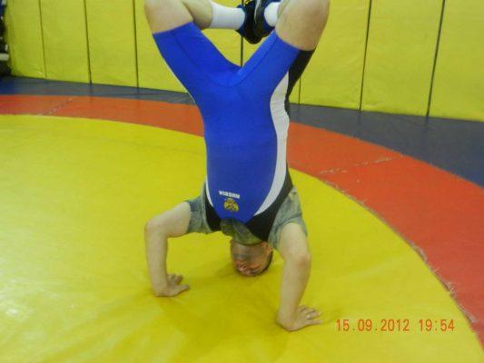 пациент, мастер спорта международного класса по борьбе