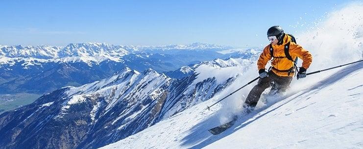 Горные лыжи после протезирования тазобедренных суставов
